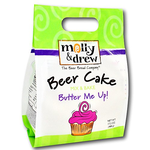 molly&drew Beer Cake Mix (17.2 Ounce) Butter Me Up!