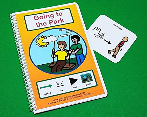- Going to the Park Social Story - PECS Autism Social Skills Story - Visual Tools - Leaving the Park Indicator Card