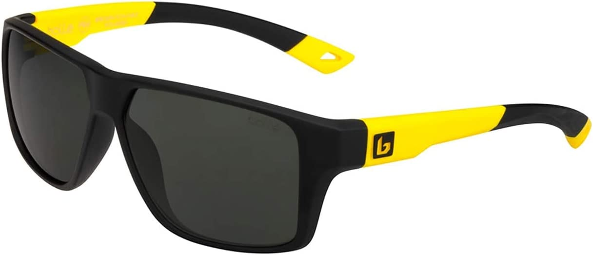 boll/é Brecken Floatable Color Negro y Amarillo Gafas de Sol Unisex