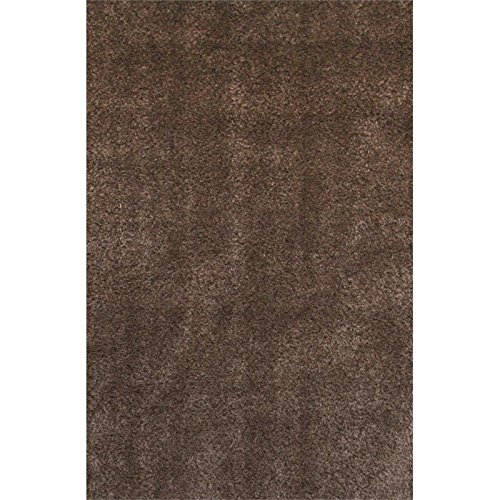 Furniture of America Buelton 5'3'' x 7'6'' Shag Rug in Brown by Furniture of America