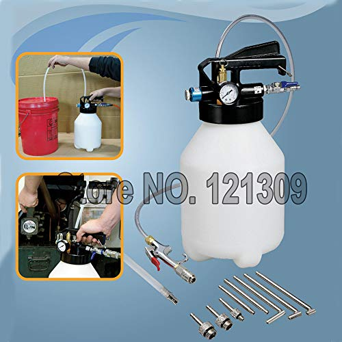 UTOOL Two Way 6L Pneumatic Air Engine Gear ATF Oil & Fluid Extractor & Dispenser -