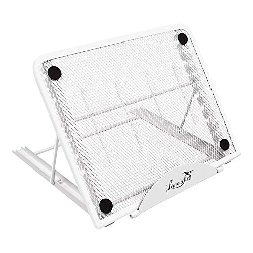 Light Box Pad Stand, Multifunctional 7 Angle Points Skidding Prevented Tracing Holder for Huion Laptop LED Light Table A4 LB4 L4S and Most tracing Ligh Box Pad (WHITE)
