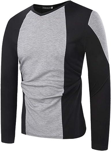 Manga Larga de Hombre de Las Camisetas, raglán para Hombre Camisas en línea Camiseta para Hombre Grande Camisa de los Hombres Camisa Que se: Amazon.es: Ropa y accesorios