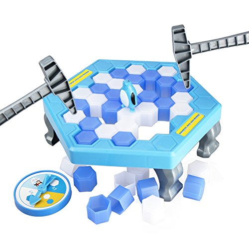 TOYMANY Save The Penguin Game Desktop Gaming Save Penguin Icebreaker Puzzle Table Games Paternity Interactive Game