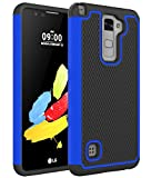 LG G Stylo 2 Plus Case, LG Stylus 2 Plus Case, LG MS550 Case, LG LS775 Case, kaesar Slim Hybrid Dual Layer Armor Defender Protective Case Cover for LG G Stylo 2 Plus / Stylus 2 Plus - Blue