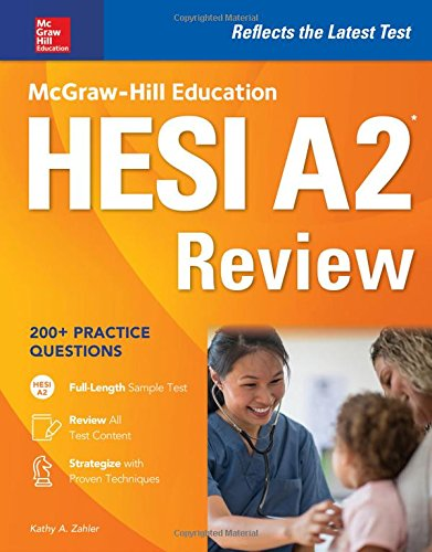 McGraw-Hill Education HESI A2 Review