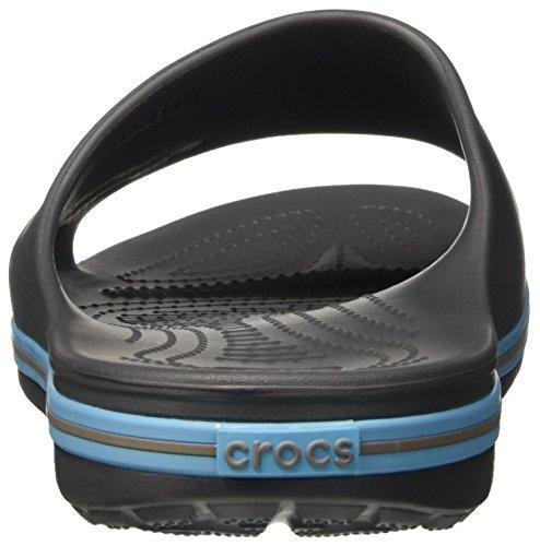 Crocs Voksnes Grå Elektrisk Blå Muldyr Crocband2slide grafitt Marineblå Unisex qawC5qO