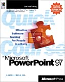 Quick Course in Microsoft PowerPoint 97, Online Press, Inc. Staff, 0735610746