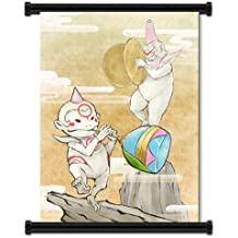 """Okamiden Videogame Fabric Wall Scroll Poster (16"""" x 22"""") Inches"""