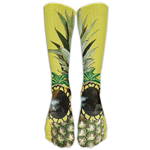 DaSOC Pineapple Sunglasses Unisex Novelty Knee High Socks Athletic Tube Stockings One - Sunglasses British Designers