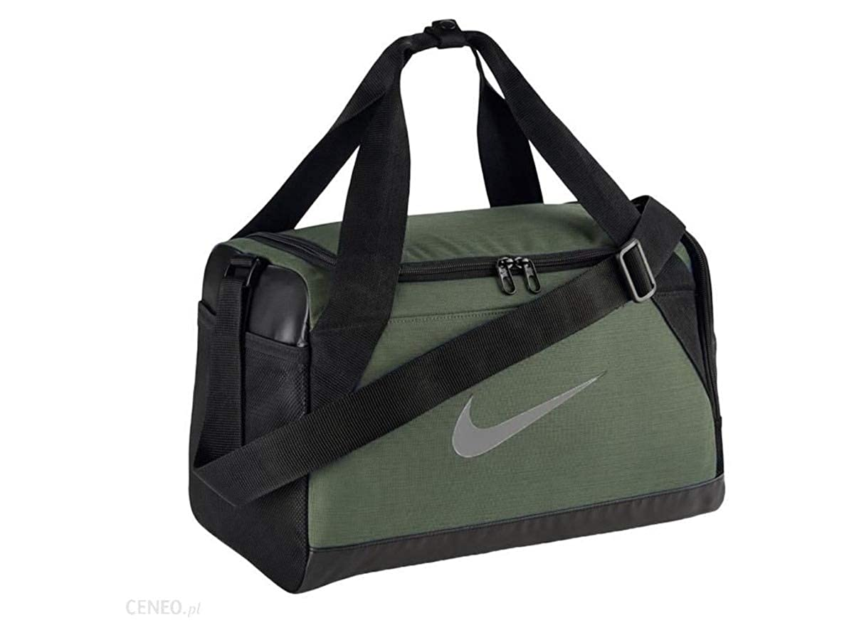 Nike NK BRSLA XS DUFF - Zaini Unisex Adulto, Multicolore (Mnrlsprc/Blck/Sprcfg), 24x15x45 cm (W x H L)