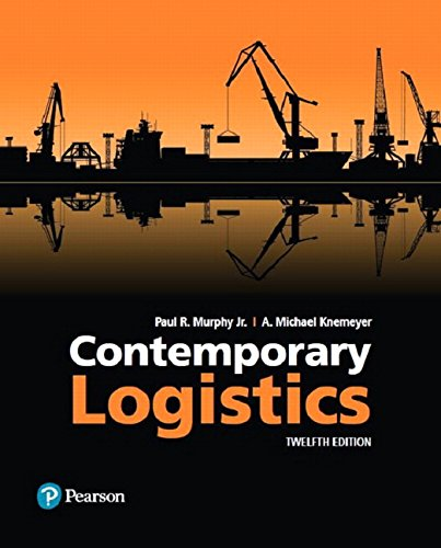 134519256 - Contemporary Logistics (12th Edition)