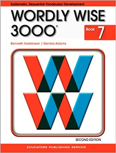 wordly wise 3000 login Amazon.com: Wordly Wise 3000 Book 7 (9780838828250): Kenneth ...