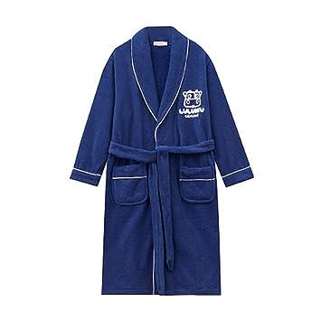 Pijamas dos piezas Bata de Noche Albornoz de Toalla de algodón para niños Camisón de algodón