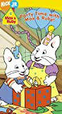 Max & Ruby - Party Time With Max & Ruby [VHS]