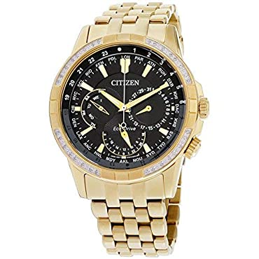 Citizen Watches Men's BU2082-56E Eco-Drive Gold-Tone One Size