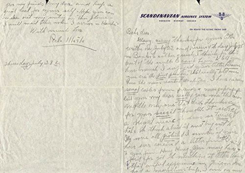 Perle Mesta Autograph Letter Signed 7/28
