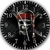 """pirati dei Caraibi orologio da parete 10 """"sarà bello regalo e Camera della decorazione della parete Z165"""