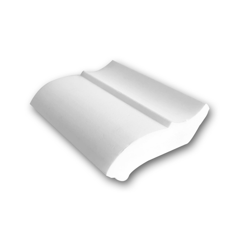 1 PIEZA DE MUESTRA S-CB501 Orac Decor BASIXX MUESTRA Cornisa para techo Moldura decorativa Longitud aprox 10 cm