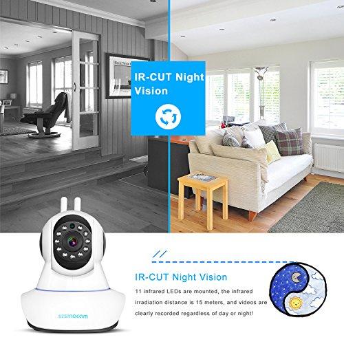 best [Updated Version] IP Camera,SZSINOCAM 1080P FHD WiFi IP Camera