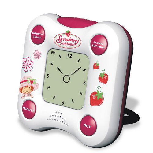 Strawberry Shortcake Talking Alarm Clock