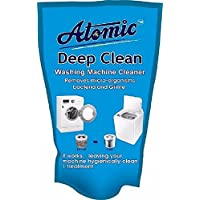 Atomic Washing Machine Cleaner Powder for LG, Samsung, IFB, Bosch, Whirlpool, Haier, Godrej Top/Front Load-150G