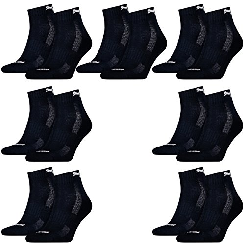 14 pairs of Puma Quarter socks with terry sole Gr. 35-46 Unisex Cushioned Short Socks 321 - Navy sale online shop discount visit new 9dB2Q