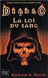 Diablo, Tome 1 : La loi du sang par Knaak