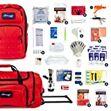 Complete Earthquake Bag - Most popular emergency kit for earthquakes, hurricanes, floods + other disasters (6 person, 3 days)