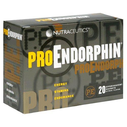 Nutraceutics ProEndorphin, saveur d'agrumes, 20 sachets effervescents