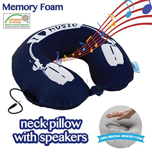 10 Best Neck Pillow With Speakers