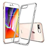 iPhone 8 Plus Case, iPhone 7 Plus Case, ESR Slim Fit Clear Case [Supports Wireless Charging][Scratch Resistant] Transparent Flexible Protective TPU Back Cover for iPhone 5.5 inches(Clear)