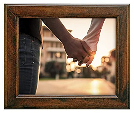 5 by 7-Inch nexxt Oliver Wood Picture Frame Walnut PN17298-4 photograph; photography; art; framing; framed; home; décor; design; wall art; memories; classic; decorate; home; wooden