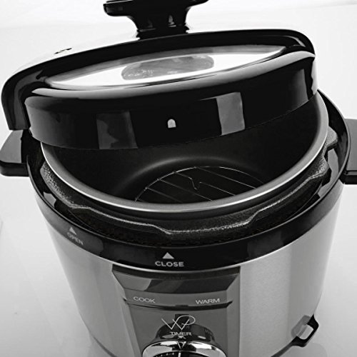 Wolfgang puck 5qt automatic rapid pressure cooker with 44 for Wolfgang puck pressure oven