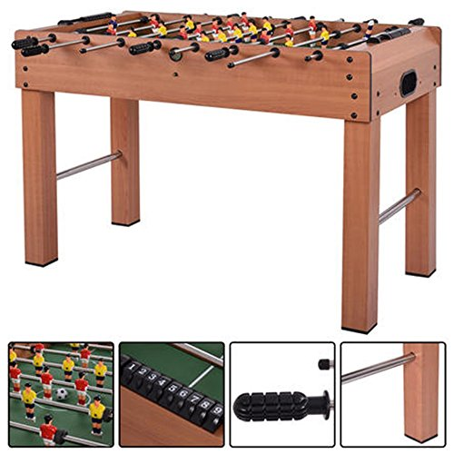 Goplus 48'' Foosball Table Competition Game Soccer Arcade Sized Football Sports Indoor by Satunsell