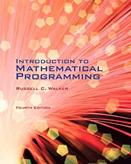 Amazon 1 student solutions manual for winstons introduction introduction to mathematical programming 4th edition fandeluxe Image collections