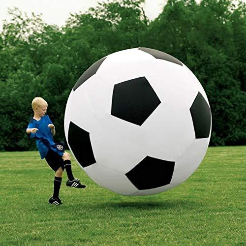 weimay 1 pcs balón de fútbol hinchable gigante, accesorios de ...
