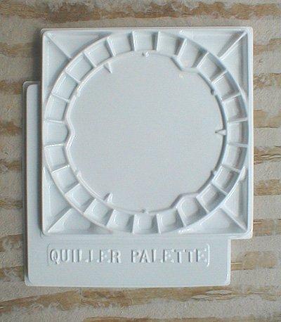 Jack Richeson Quiller Palette, 14-3/4 by 14-3/4-Inch (Quiller Palette)