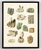 Vintage Rock and Mineral Specimen Southwest Art Print