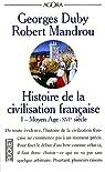 Histoire de la civilisation française, tome 1 : Moyen Age-XVIe siècle par Mandrou