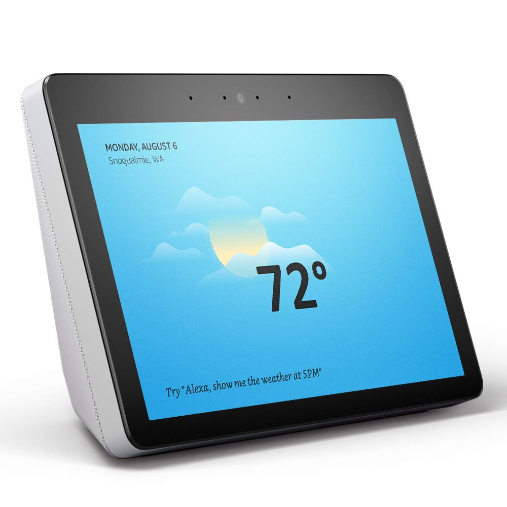 Echo Show (2nd Gen) – stay connected and in touch with Alexa - Sandstone