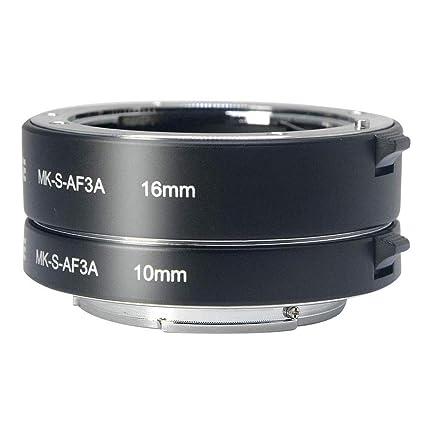 Meike enfoque automático tubo de extensión macro para Sony NEX ...