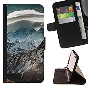 Momo Phone Case / Flip Funda de Cuero Case Cover - Naturaleza Hermosa Forrest Verde 120 - Samsung Galaxy S6 EDGE