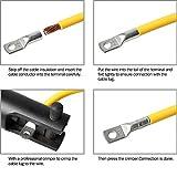 """AIRIC 30PCS 12-10 Gauge 1/4"""" Stud DIN 46235 Cable"""
