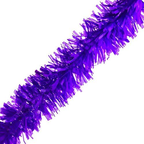 Purple Vinyl Twist Garland - 4