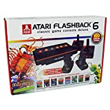 Atari Flashback 6 Deluxe Collectors Edition Exclusive 100 Games Built In Plus 2 extra Classic Controllers