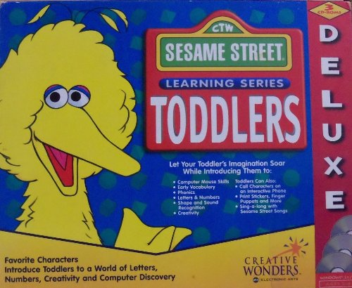 Learning Series Toddlers Deluxe Sesame Street Art Workshop