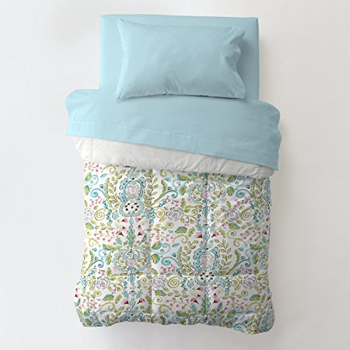 Carousel Designs Bebe Jardin Toddler Bed Comforter ()
