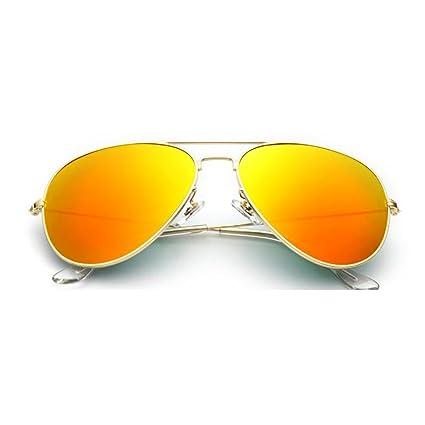 NUBAO Gafas De Sol De Cristal Ojos De Los Hombres Espejo De ...