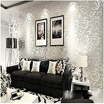11352 sqft rolls paste the wall only embossed modern
